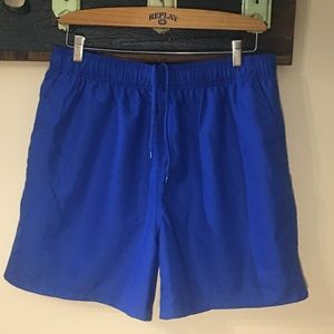 2/$30 Faded Glory Lined Swim Shorts Size 36-38